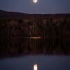 Full Moon Over Lake Arrowhead