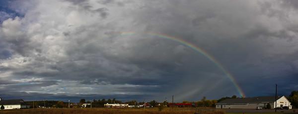 Morning Rainbow in Milton