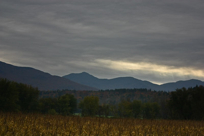 Green Mountains from Rt 15 in Cambridge, VT