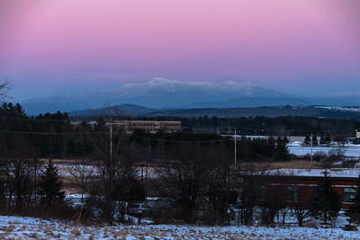 Mount Mansfield At Dusk