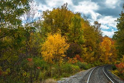 East Road Train Tracks