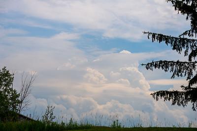 Cumulonimbus in Williston
