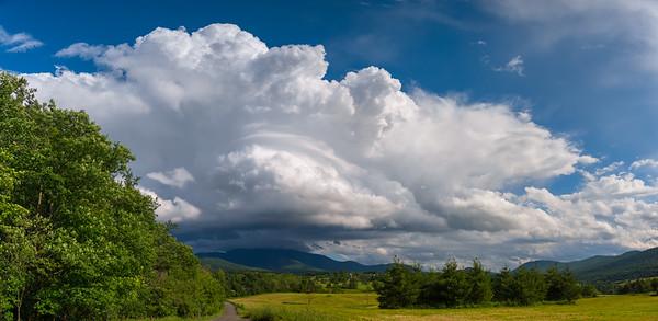 Cumulonimbus Over Mount Mansfield