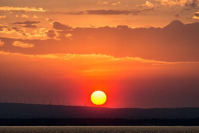 Sunset Over Plattsburgh, NY