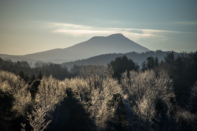 Camels Hump on a frosty morning