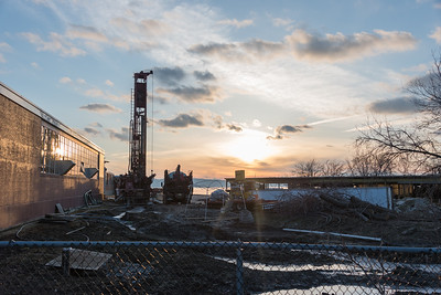 New Construction Near Old Blodgett Building