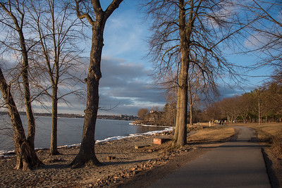 Burlington Bike Path at Oakledge Park