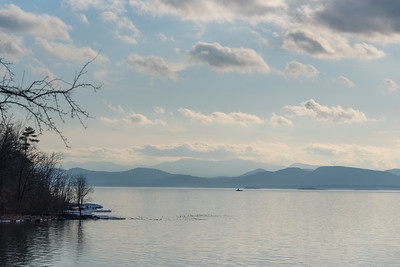 Late Afternoon on Lake Champlain