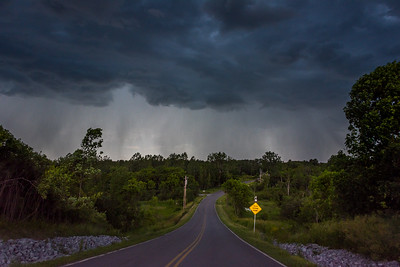 Storm over McMullen Road