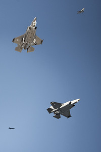 Composite of F35 Jets