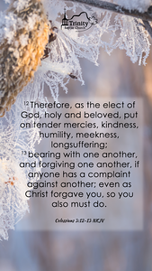 December 2019 Scripture Memory