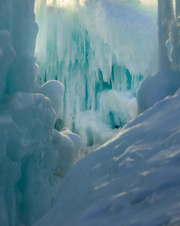 Loon Mountain Ice Castles 2014