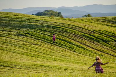 Running Up Windmill Hill