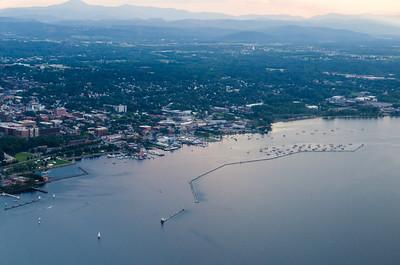 Burlington Waterfront and Breakwater