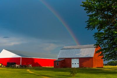 Rainbow On Rte. 2