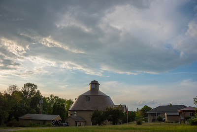 Round Barn in Grand Isle