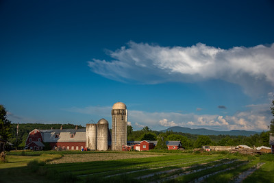 Billowing Cloud Over Barn #2