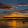 Georgia Shore Sunset