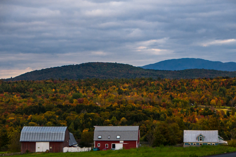 View From Milton-Westford Road