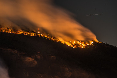 Linville Gorge Fire on the Ridge