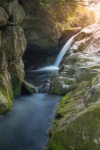 Hidden Falls at Upper Creek