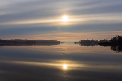 Mirrored Sunrise (horizontal)