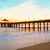 """Kirk's Sunrise"".  Manhattan Beach Pier, 1.15.11. Happy Birthday Dad!"