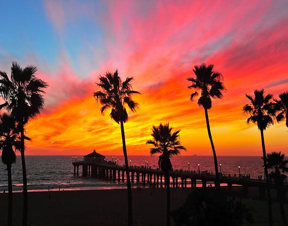 """""""Dreaming of Fall"""". Manhattan Beach Pier. October 2012"""