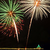"""White Burst"".  Manhattan Beach Holiday Fireworks Festival 2008, Manhattan Beach, CA<br /> Image to be published in Manhattan Beach Life Magazine, Dec 2012 issue."