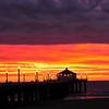 """Storm Layers"". Manhattan Beach Pier, Manhattan Beach, CA"
