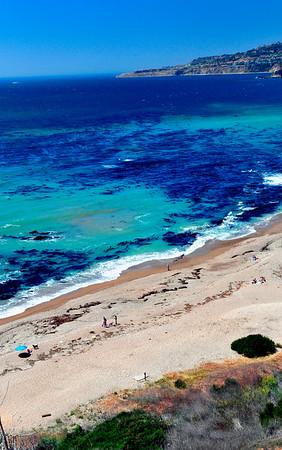 """""""Palos Verdes Cove"""".  Palos Verdes coastline, CA."""