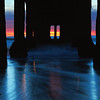 """Swept Away"".  Underneath the Manhattan Beach Pier at twilight.  New Year's Day 2011."