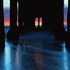 """Swept Away"".  Underneath the Manhattan Beach Pier at twilight.  New Year's Day 2011."