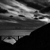 Silver Streaks.  Bixby Bridge, Big Sur, CA.