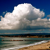 "Deep Blue. Thunderhead cloud over Rio Del Mar Beach, Aptos, CA. (Image awarded ""Approver's Choice"" on  <a href=""http://www.WeatherUnderground.com"">http://www.WeatherUnderground.com</a>) Feb 2011"