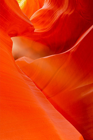 """Soft Light"". Lower Antelope Canyon, Page, AZ"