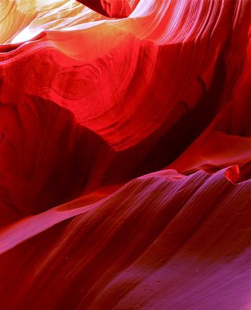 """Purple Hues"".  Lower Antelope Canyon, Page, AZ"