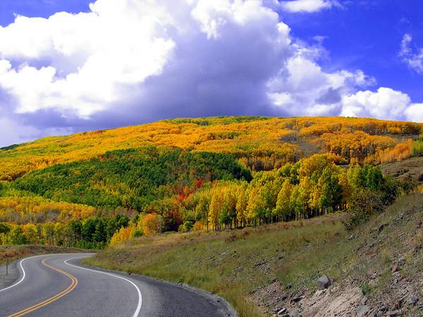 Hwy 12 on Boulder Mt., Utah