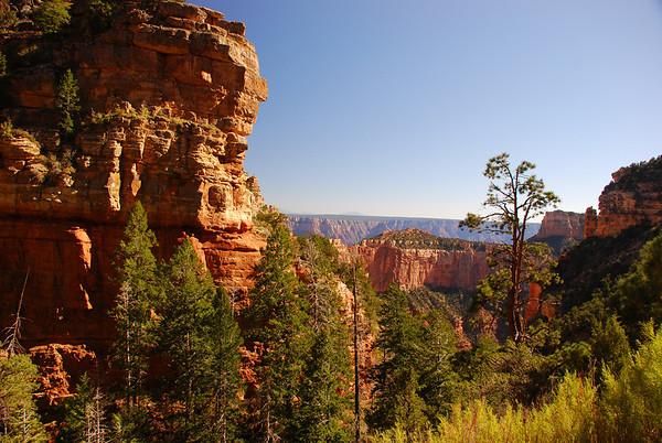 Hiking the Grand Canyon, North Rim.