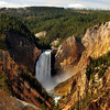 Tower Falls, Yellowstone National Park.