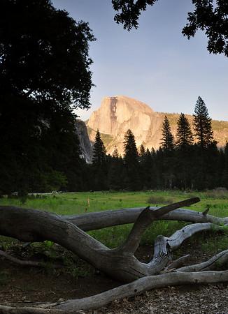 Half Dome at Sunset, Yosemite National Park.