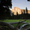 Half Dome at Sunset, Yosemite National Park.