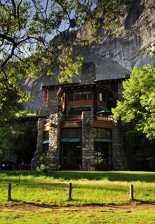 The Ahwahnee Hotel, built in 1927, was inspired by it's surroundings. Yosemite National Park