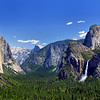 """Springtime at Tunnel View"".  Yosemite National Park."