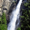 Bridalveil Falls is one of the only waterfalls in the park that is year round. Yosemite National Park.