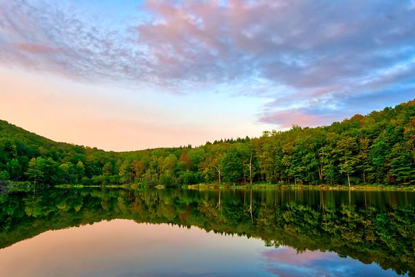 Russ Gray Pond - Catskill Mountains