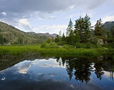 Sunrise at GlennAlpine Sierra Nevada Mountains, California