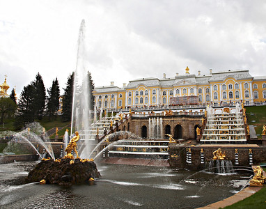 Peterhof Castle St. Petersburg, Russia