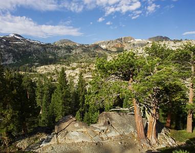 Trail from GlenAlpine Sierra Nevada California
