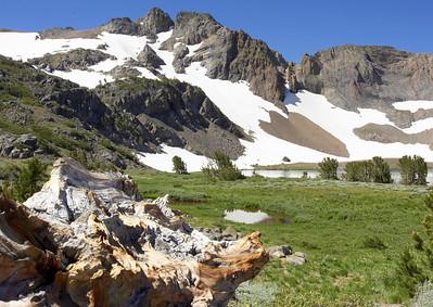 Round Top Lake Carson Pass area Sierra Nevada Mountains California